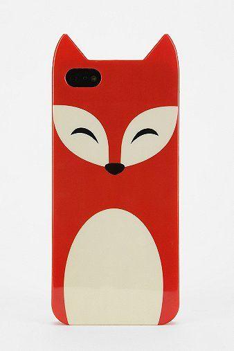 Cute fox iPhone case
