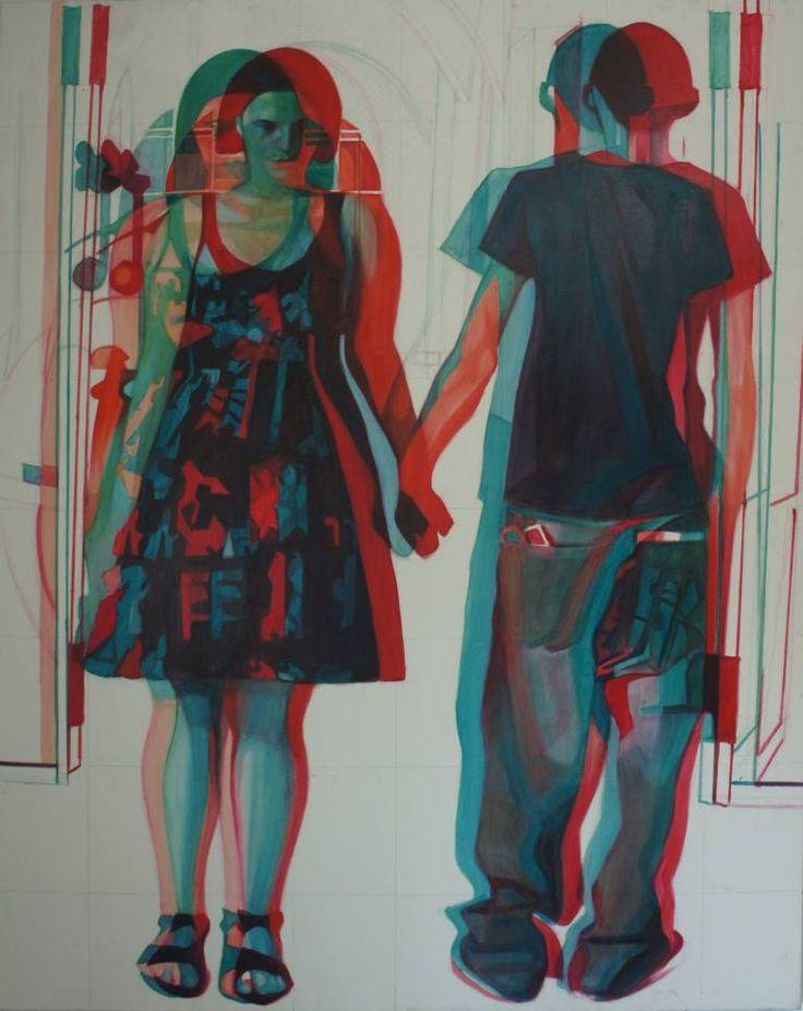 "Saatchi Art Artist Emanuel-Alexandru Gliga; Painting, ""Duality 3"" #art"