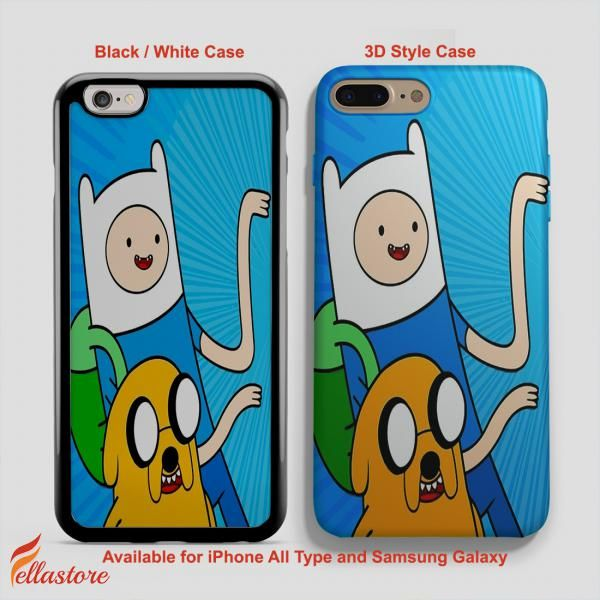 awesome Adventure Time Finn Jake iPhone 7-7 Plus Case, iPhone 6-6S Plus, iPhone 5 5S SE, Samsung Galaxy S8 S7 S6 Cases and Other