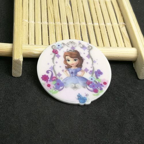 Free shipping 50pcs/lot inspired sofia the first planar resin