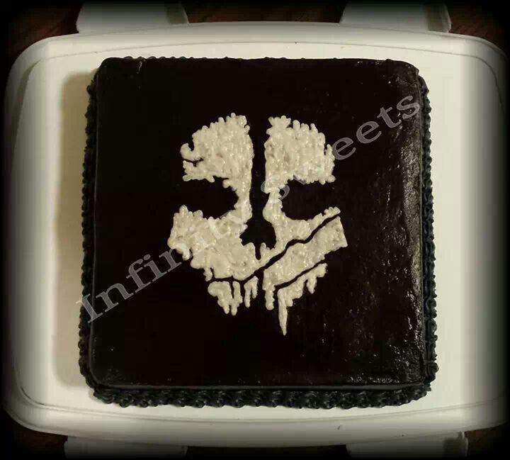 Call Of Duty Ghosts Birthday Cake Call Of Duty Ghosts