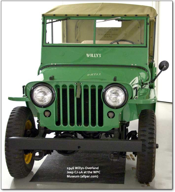 Willys-Overland Jeep CJ-2A