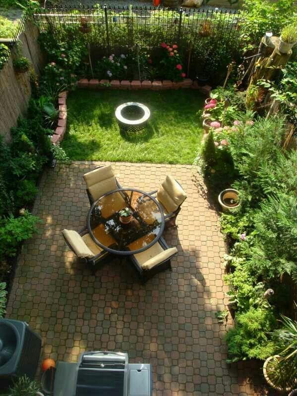186 Best Small Urban Gardens Images On Pinterest | Landscaping, Gardens And  Garden Design Ideas