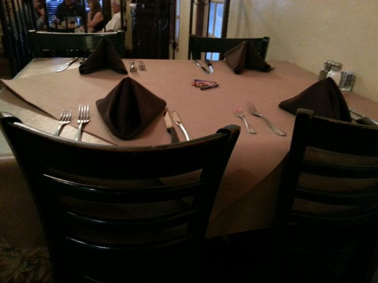 Republic of the Rio Grande Restaurant: table set up. http://www.rgvattractions.com/republic-of-the-rio-grande-restaurant.html