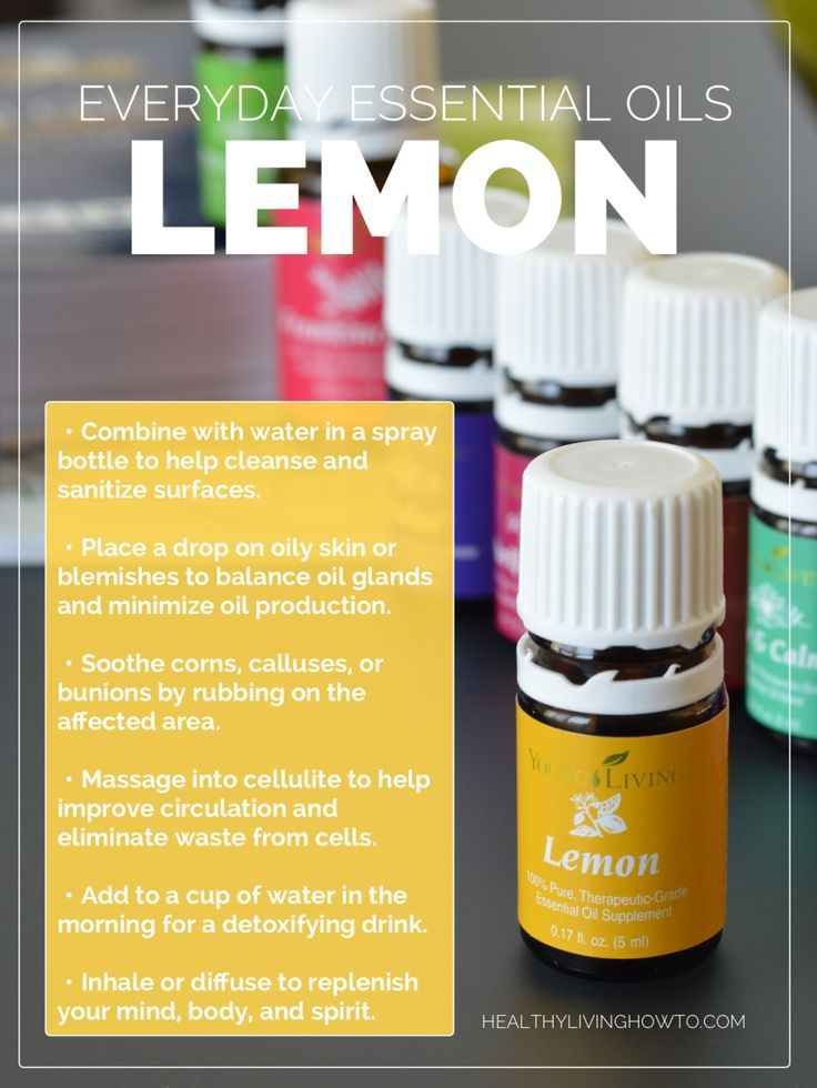 WIN ME! (1) 15 mL Bottle of Young Living Lemon Everyday Essential Oil   healthylivinghowto.com