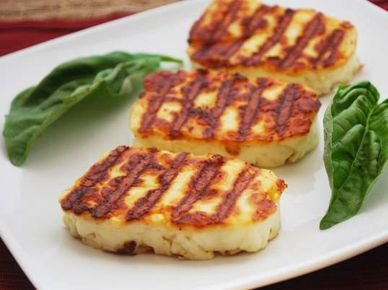 Panela Grilling Cheese Appetizer