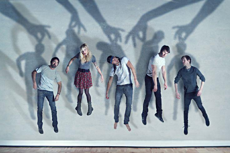 Walk Off The Earth | Promo / Press Band Photo by Shawn Van Daele, via 500px.....so creative!