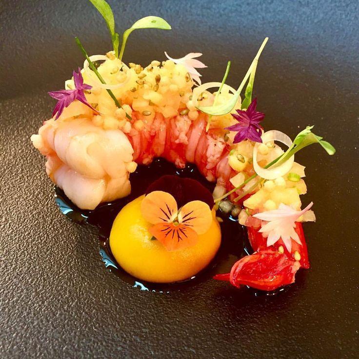 """– Jan Hartwig (@janhartwig_atelier) sur Instagram : « Love this dish... Our carabiniero """"thaistyle"""" #ateliermünchen #bayerischerhof #münchen… »"""