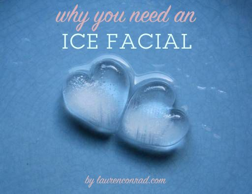 Ice cube facial massage. It may not sound that particularly pleasant, but running an ice cube over your face has a lot of benefits for your skin. Besides giving your face a dewy, glowing look, the frosty cubes will help to smooth your complexion by combatting fat cells, ease wrinkles, fight acne, and promote blood circulation that will help heal blemishes.   By simply massaging your face with ice cubes for a minute or two before bed, you will essentially be giving yourself a mini facial.