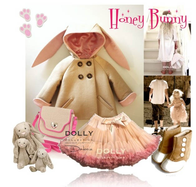 Honey bunny for the cutest DOLLY baby. Dress your Brigitte Bardot DOLLY skirt.
