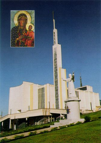 National Shrine of Our Lady of Czestochowa  The National Shrine of Our Lady of Czestochowa occupies approximately 170 acres of land. Located on Beacon Hill, and overlooking Peace Valley, the Shrine is the perfect place to come and spend time in prayer and reflection.