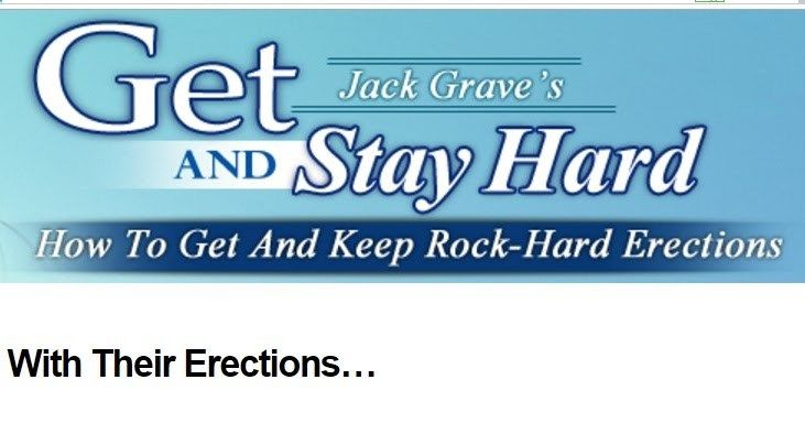 ift.tt/2nxOH6k ==>get and stay hard / get and stay hard review - Men Not Happy With Their Erectionsget and stay hard : ift.tt/2mCybwU The Get and Stay Hard Review. In the modern world where amongst many other things a man is largely defined by his performance in bed underperformances can occur. Most men though not in public can admit to having hindrances in their sex lives as a result of limited sexual endurance flabby erections premature ejaculations (excessively delayed ejaculations ...