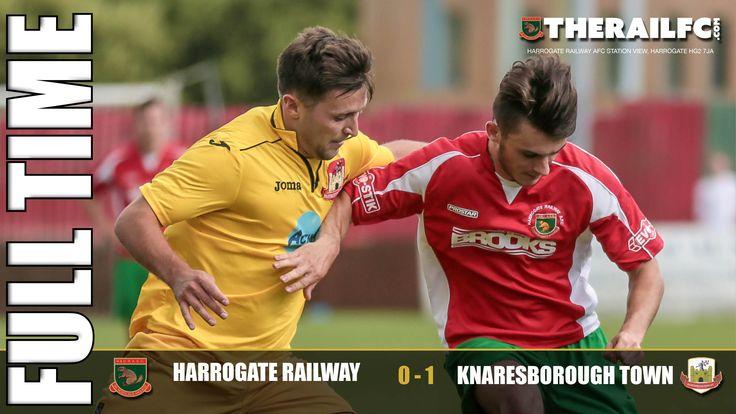 FT: Harrogate Railway 0-1 Knaresborough Town    @therailfc @knaresboroughfc @edwhite2507 #Harrogate