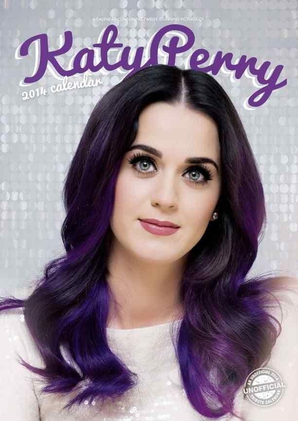 Katy Perry Face 2015 | Calendrier Katy Perry 2014 non officiel © Alpha Kalender