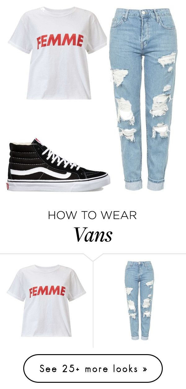"""Untitled #521"" by destinee34 on Polyvore featuring Miss Selfridge, Topshop and Vans"