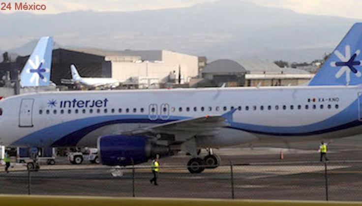 """Interjet cancela 10 vuelos de Los Cabos, La Paz, Guadalajara y CdMx tormenta """"Lidia"""""""