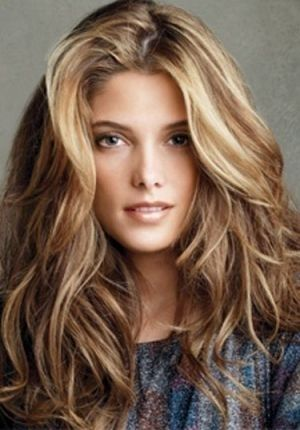 Brown Hair Dramatic Blonde Highlights:: by Chad.n.amanda