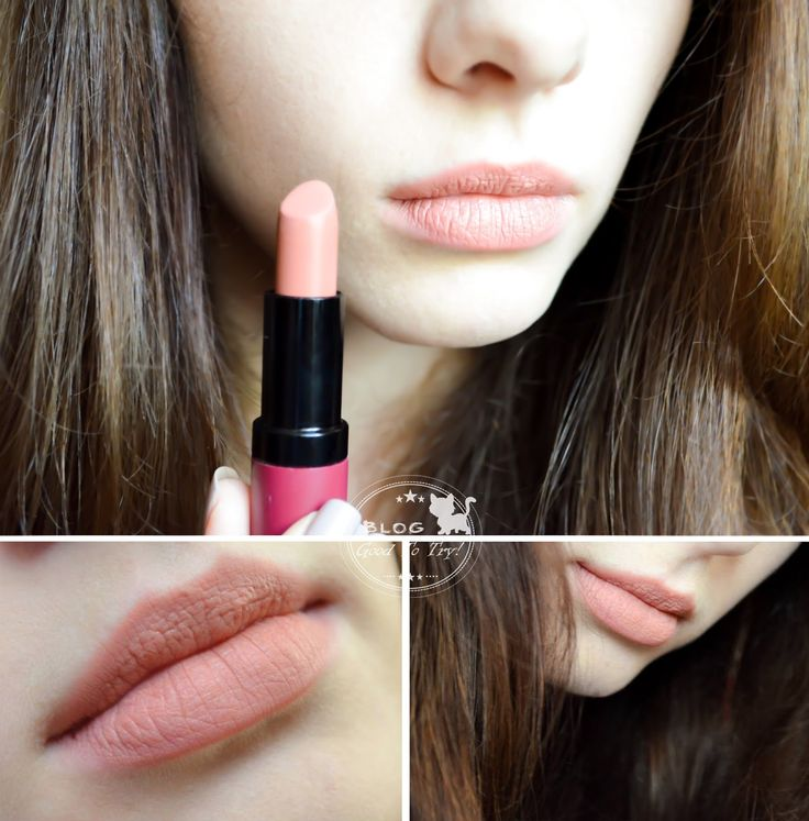 Good to try !: Golden Rose Velvet Matte Lipstick nr 03- nudziakowa szminka