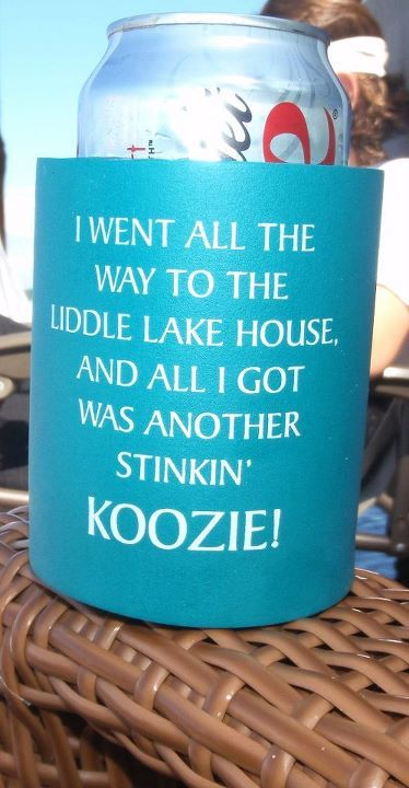 Great gift for family reunion or wedding favor! KOOZIE could be used in many applications! www.kustomkoozies.com
