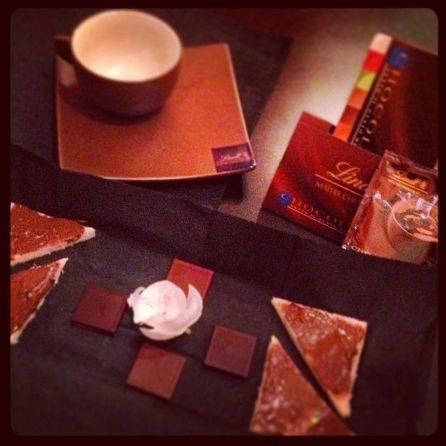 Le degustazioni di Les Ongles Group..... uniche... come quella al cioccolato...