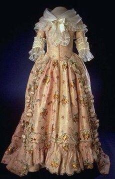 Martha Washington inaugural gown.