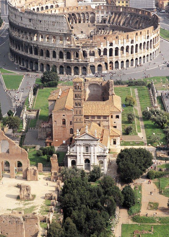 Rome, Province of Rome, Lazio region Italy. Travel in Italy and learn fluent Italian with the Eurolingua Institute http://www.eurolingua.com/italian/italian-homestays-in-italy