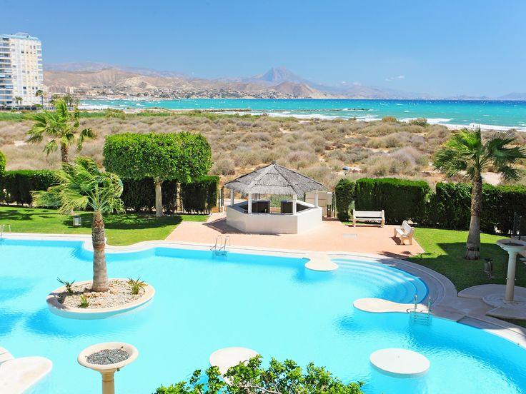 Vakantiehuis met zeer mooi uitzicht op zee in Spanje.
