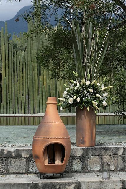 Chimenea barro by equisoeventos centerpieces pinterest - Chimeneas de barro ...