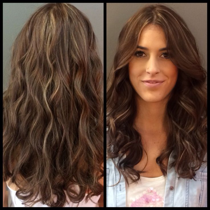 57 best dark brown hair with blond highlights images on pinterest dark hair with highlights long hair and long layers pmusecretfo Image collections