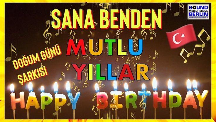 Turkish Happy Birthday Song ️ for Adults, Turkish Birthday