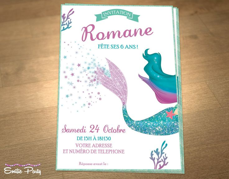 Sehr 403 best carte invitation anniversaire images on Pinterest | 20  QL07
