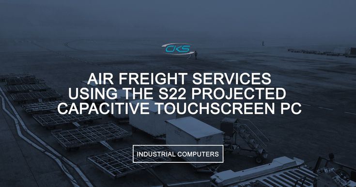Explore the various functions this industrial computer offer to speed up and optimise air cargo operations.