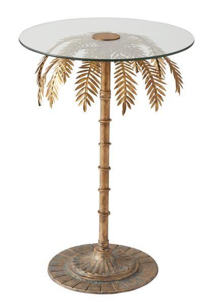 Palm Tree Side Table Sunday Society