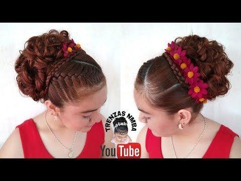 13 Peinados recogidos elegantes para ninas