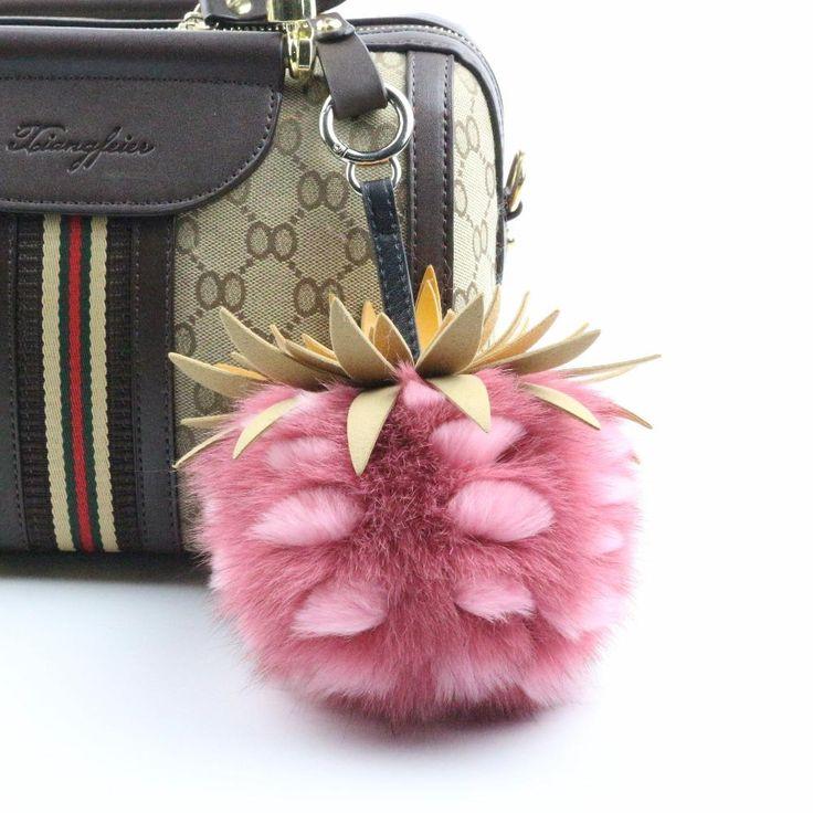 Pineapple Bag Charm