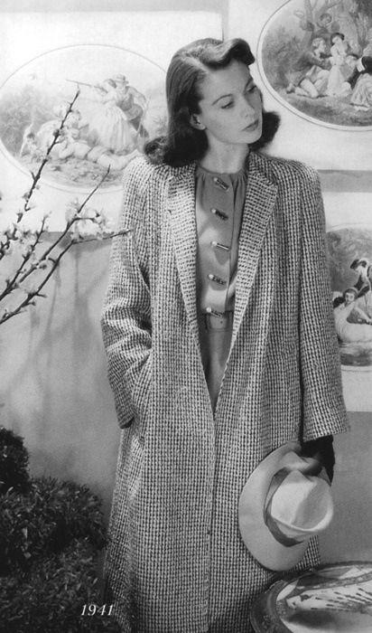 Vivien Leigh in 1941, could portraya mood effortlessly.