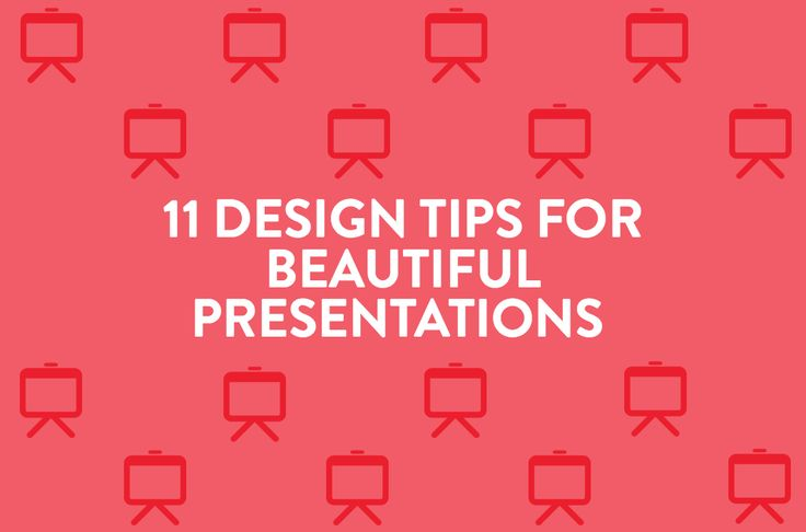Give your presentations a visual makeover with these 11 design tips for beautiful presentations.
