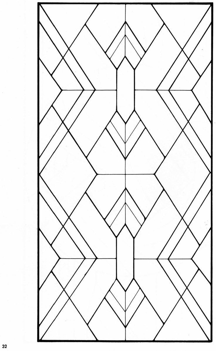 Art Deco Stained Glass Pattern Book Art Buch Deco Glas Muster Flecken Art Deco Pattern Stained Glass Patterns Stained Glass Art