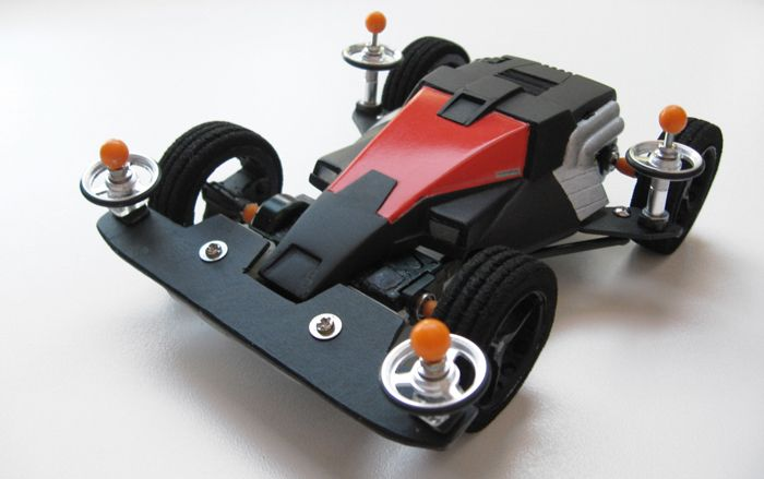 Dash X1 Proto Emperor, Street Version by Aran | Mini 4WD | #Mini4WD | #Tamiya