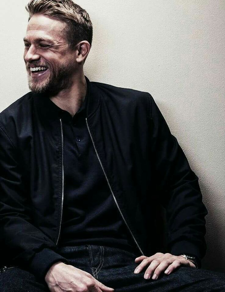 Inspiration for Osmond Zachary. Charlie Hunnam