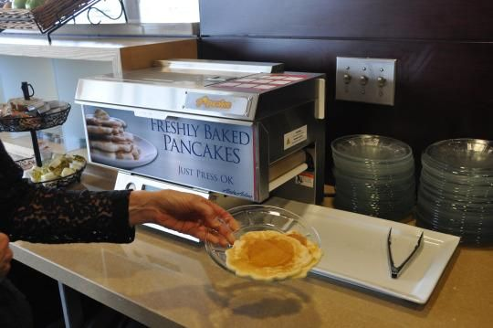 An Inside Look at Alaska Airlines' Infamous Pancake Maker