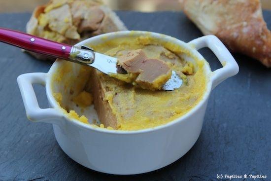 Terrine de foie gras au micro ondes