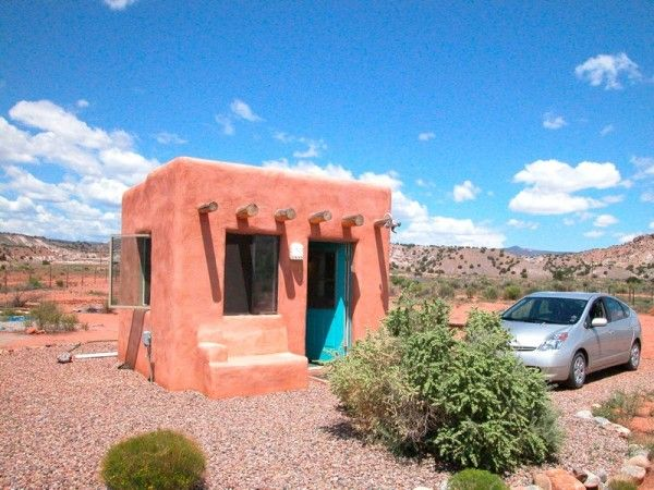 Samuel Greyu0027s Adobe Casita Located Near Abiquiu, NM. Less Than $3000,12x10  Feet Part 64
