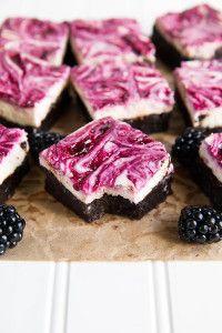 Blackberry Cheesecake Brownies – Broma Bakery