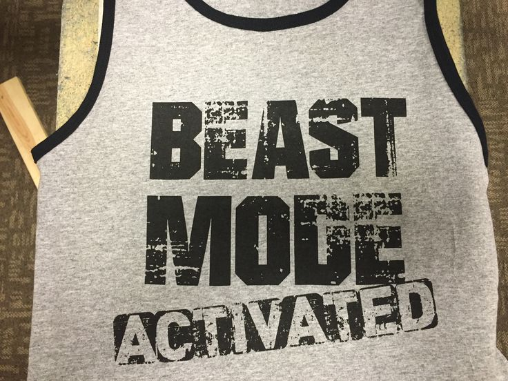 Gotta go all in when it's time to hit the gym! No days off , Activated! #beastmode #workouttanks #workoutshirt #fitness #workoutclothes #tanktops