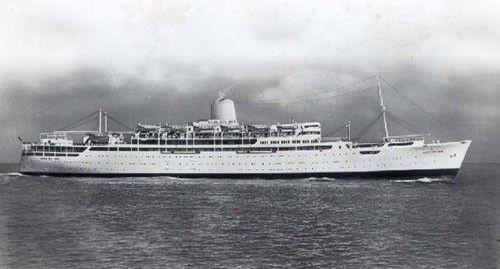 Reina Del Mar, 1963 - 1964 Pacific Steam Navigation Co.