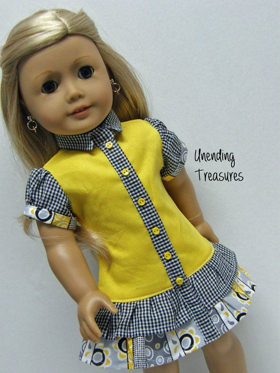 Hey, I found this really awesome Etsy listing at https://www.etsy.com/listing/189110432/american-girl-doll-clothes-18-inch-doll