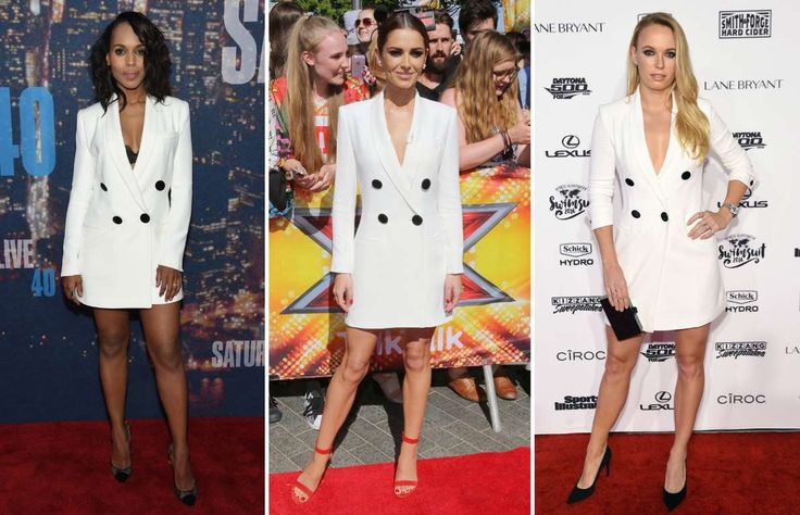 Kerry Washington, Cheryl Fernandez-Versini and Caroline Wozniacki - Jamie McCarthy/NBC/NBCU Photo Bank via Getty Images; James Shaw/REX Shutterstock; Jamie McCarthy/Get...