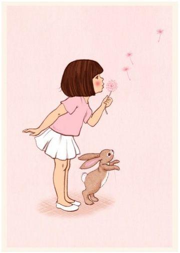 Belle & Boo `Kaart Dandelion`   Belle & Boo   Petite Louise