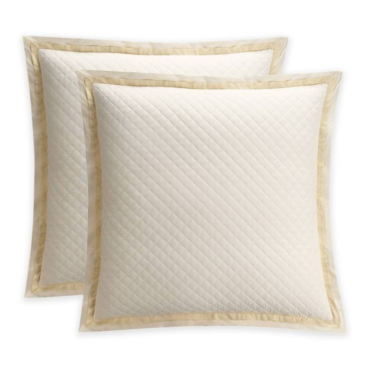 product image for Bridge Street Estelle European Pillow Sham in Ivory